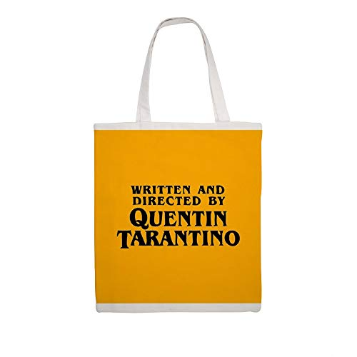 Cotton Canvas Tote Bag Written And Directed By Quentin Tarantino Shoulder Grocery Shipping Bags Cloth Shopping Bag