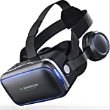 LWR VR-Headset, VR-Brille Virtual-Reality-Headset VR-Brille Für 3D-Video Filme Spiele Für Apple iPhone, Samsung Huwei HTC Mehr Smartphones