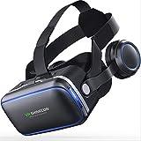 LWR VR-Headset, VR-Brille Virtual-Reality-Headset VR-Brille Für 3D-Video Filme Spiele Für Apple iPhone, Samsung Huwei HTC Mehr Smartphones