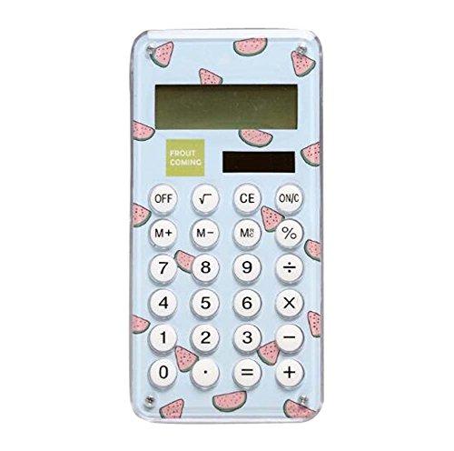 Tiny Calculator Eco-freundliche Solar Student Portable 8-stellige Display-B1