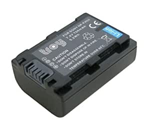 Batterie li-ion pour sony dCR-sR200, dCR-ibanez sR300, dCR-sR37, dCR-sR38, dCR-sR42, dCR-sR57, dCR-sR62, dCR-sR77, dCR-hCR-sR80, uX7, uX5-hCR-hCR-hCR-hC7, hC5, dCR-hC48, dCR-hC38 dCR-hC28