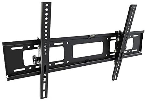 RICOO Wandhalterung TV Neigbar Fernseher Halterung R17 Universal Fernsehhalterung Flach LCD Wandhalter Halter Curved 4K OLED Flachbildfernseher 76-165 cm 30