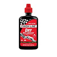 Finish Line Dry Lube with Teflon, for bicycles, Size120ml