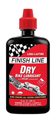 Finish Line Teflon Plus Secco Lubrificante, Multicolore, 120 ml