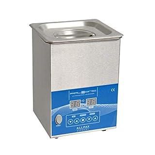 Allpax Ultraschallreiniger 2 Liter - Edelstahl-Gehäuse - PALSSONIC