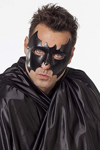 Jannes 24310 Halloween-Maske Fledermaus Groß Bat Blutsauger Vampir Grusel Horror Scary HochwertigEinheitsgröße Schwarz