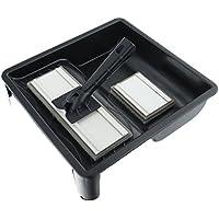 Kit de almohadillas de pintura con almohadilla grande y almohadilla pequeña Coral 24300 para emulsión y brillo; set de 4 piezas