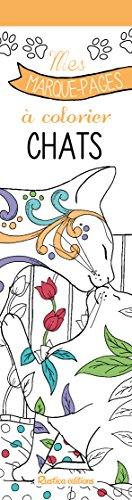 Chats : Mes marque-pages à colorier