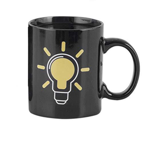 Bureze Tazze da caffè Che cambiano Colore in 4 Stili, Creative, Termiche, magiche, in Ceramica, per Latte, caffè e tè, Idea Regalo per Compleanno