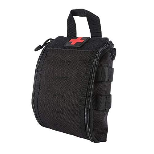 Wynex, Erste Hilfe EMT Taschen, Taktische IFAK Medizinische Molle-Tasche Militär-Utility-Notfall-EDC Taschen Outdoor Survival Kit Anzug Taktischer Taillengürtel Pack 1000 Nylon