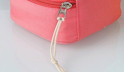 CLOTHES- Piccolo sacchetto cosmetico del sacchetto di rossetto del cotone fresco Sacchetto di caramella stereo della cinghia di dati di viaggio ( Colore : Rosa ) Anguria rossa