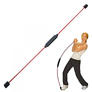 bonsport Original Swingstick inkl. DVD und Poster – Schwingstab Fitness Stab
