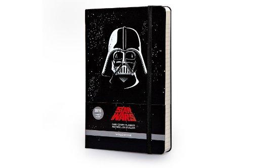 Moleskine Star Wars Sonderausgabe, Tageskalender 2015, Large Hard Cover, schwarz