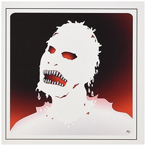 3dRose Gc_25579_2 Grußkarten, Motiv Zombies 1 auf transparent, 15,2 x 15,2 cm, 12 Stück