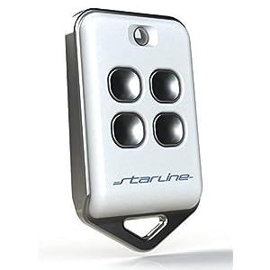 D sistema electr/ónico de alarma de coche con cerradura de veh/ículo SGerste Respalde tus mandos a distancia Juego de 2 mandos a distancia universales para puerta de garaje 6 x 3 x 2 cm A