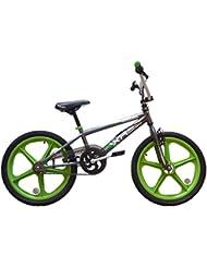 "Harlem XR22 Kids 20 ""Skyway Mag Wheels 11"" Frame Bike BMX Bike HA08 (Flock)"