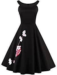 Valin M131018D Robe de bal Vintage pin-up 50's Rockabilly robe de soirée cocktail,S-XXXXL