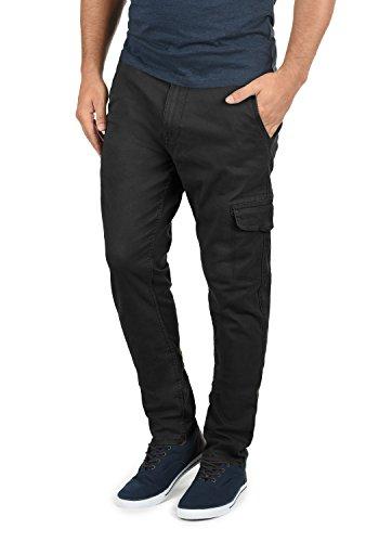 BLEND Gustavo Herren Chino-Hose lange Business Hose Casual aus hochwertiger Baumwollmischung Slim Fit , Größe:W31/32, Farbe:Black (70155) (Baumwollmischung Hosen)