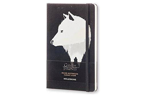 Moleskine LEGTQP060 - Cuaderno diseño Juego de Tronos, de rayas, edic