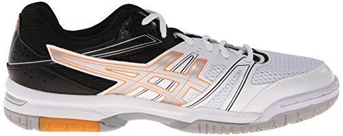 Asics Gel Rocket 7 Synthétique Baskets White/Silver/Black