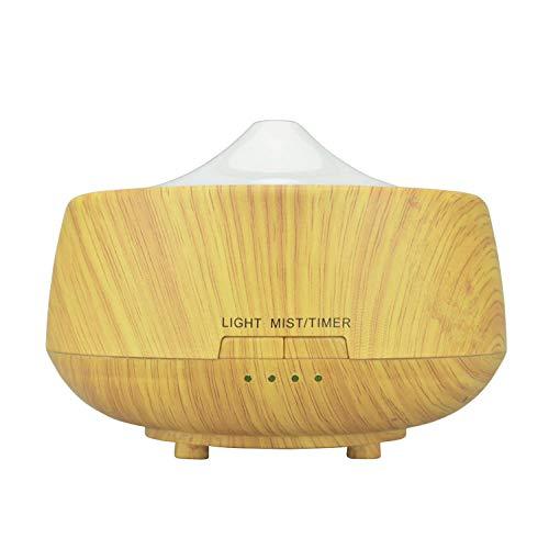 Preisvergleich Produktbild HDFIER luftbefeuchter clean air Luftbefeuchter Ultraschall Vernebler Raumbefeuchter Öle Diffusor für Raum Diffusor Holzmaserung Öl