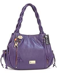 Grand sac à main en cuir Caz signé Catwalk Collection