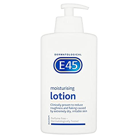 E45 Dermatological Moisturising Lotion, 500ml