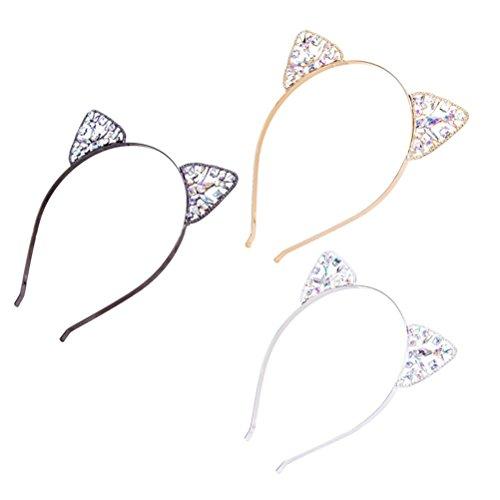 Frcolor Haarreif, Katzenohr-Design, Haarband, für Party, Alltagsfrisur, Dekoration