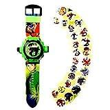 Nexxa Ben 10 Cartoon Character Images Reloj de Pulsera Digital para niños