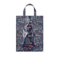 Harrods London SW1 Navy Tote Shopper Bag