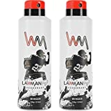 LAWMAN PG3 2 Winger Deodorant Spray - For Men (420 Ml, Pack Of 2)