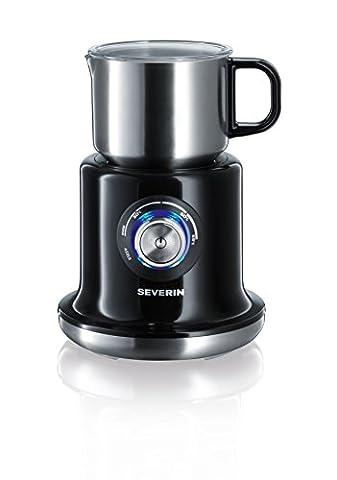 Severin SM 9688 Milchaufschäumer, (500 Watt, Induktion, 700 ml, kaltes und warmes Aufschäumen, stufenloses Erwärmen)