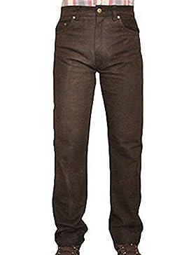 SHAMZEE Lederhose Leder Jeans Ho