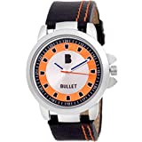 Bullet BLT_07 New Looks Mulit Color in Orange Casual Leather Analog Men's Watch