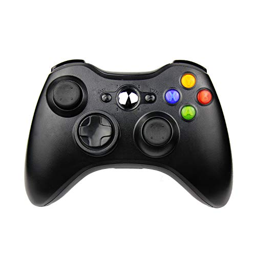 JAMSWALL Xbox 360 Controller per Xbox 360 Slim Wireless Controller di Gioco per PC Windows di Microsoft Xbox 360 Wireless Controller 7 XP Whit Joypad per Windows Bluetooth
