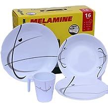 MELAMINE BRUNNER SERENADE - Juego de platos (melamina)