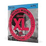 D'Addario EXL145 Juego de Cuerdas, Plateado, Heavy, 12-54