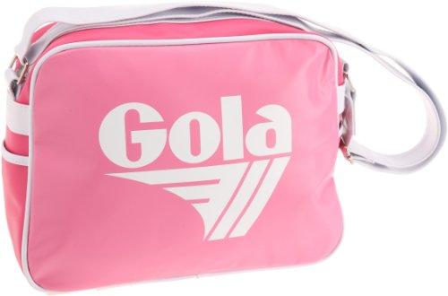 Gola  Redford, Sac de sport femme - Blanc - Blanc/fuchsia, Blanc/bleu marine/rouge