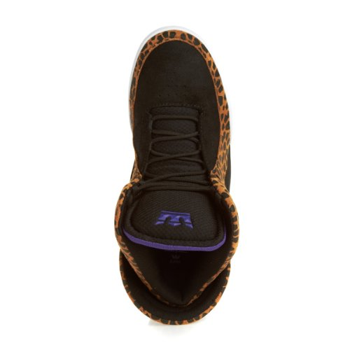 Supra, Sneaker uomo Nero nero Nero (black/cheetah)