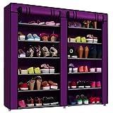 #7: Insasta Folding Shoe Rack 11 Layers(Muti-Color)