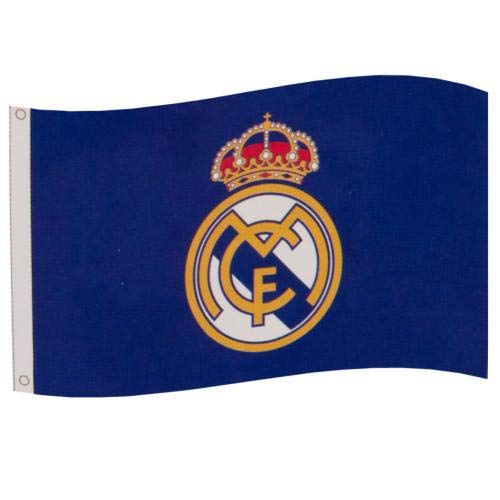 Real Madrid Football Club Official Large Flag Big Crest Game Fan Banner -