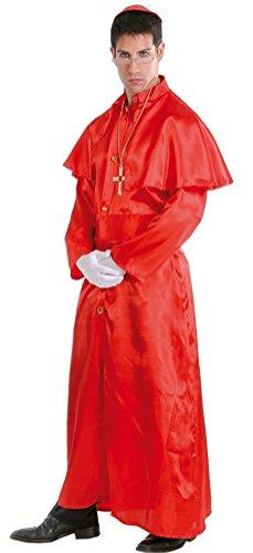 (Herren Rot Priest Religiöse Papst Heiligen Vater Hirsch Do Fancy Kleid Kostüm)