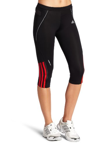 Adidas Damen Response 3/4Dolce Vita Tight Hose, damen, Black/Core Energy/Light Onix Preisvergleich