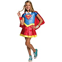 "DC Super Hero Niñas 620714l (Rubie 's–Disfraz de super girl ""(Tamaño Grande)"
