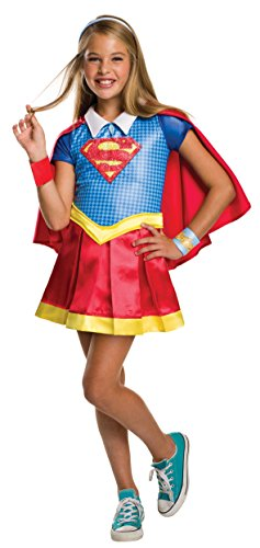 Rubie's 3620714 - DC Super Hero Girls Supergirl Deluxe (Amazon Kostüm Supergirl)