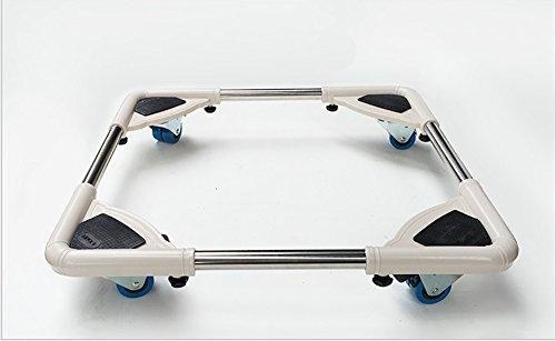lxl-machine-de-lavage-reglable-base-de-refrigerateur-pour-piedestal-porte-bagages-mobile-avec-frein-