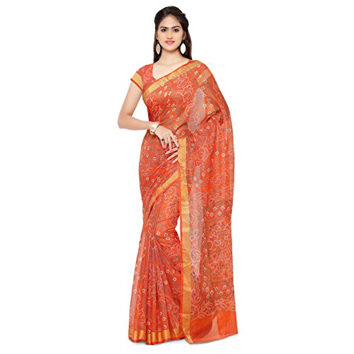 Rajnandini Cotton Saree (Joplsrs1052E_Orange)