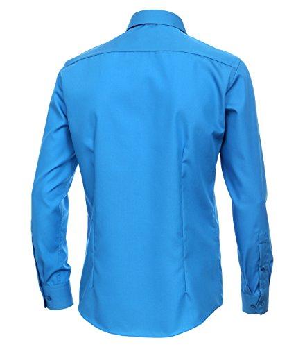 Michaelax-Fashion-Trade Camicia Classiche - Basic - Classico - Maniche Lunghe - Uomo Orange (456)