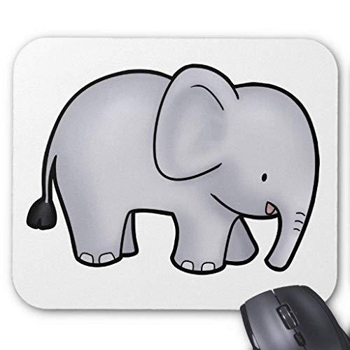 Elefant Mousepad 25cm x 30 cm
