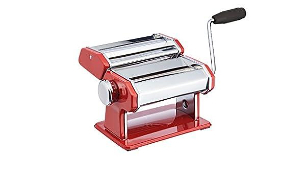 Kitchen Craft World of Flavours en Acier Inoxydable Machine /à p/âtes/ /Rouge